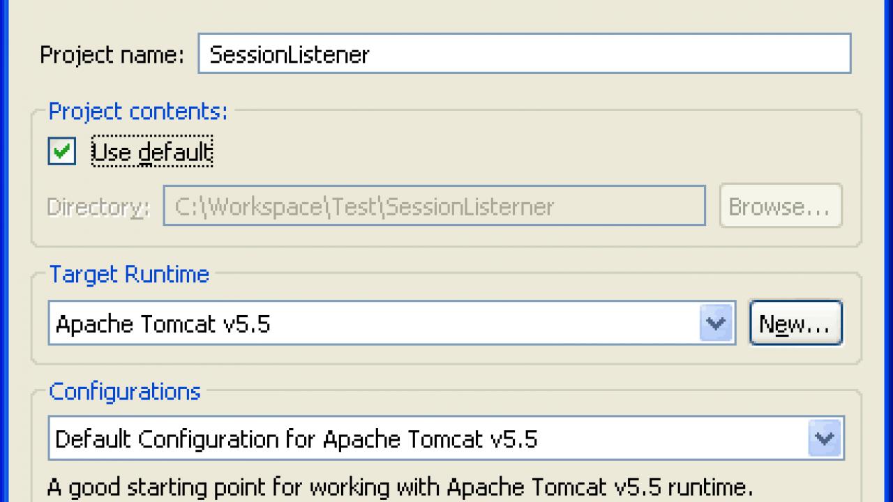JSP Servlet HTTP Session Listener tutorial example in