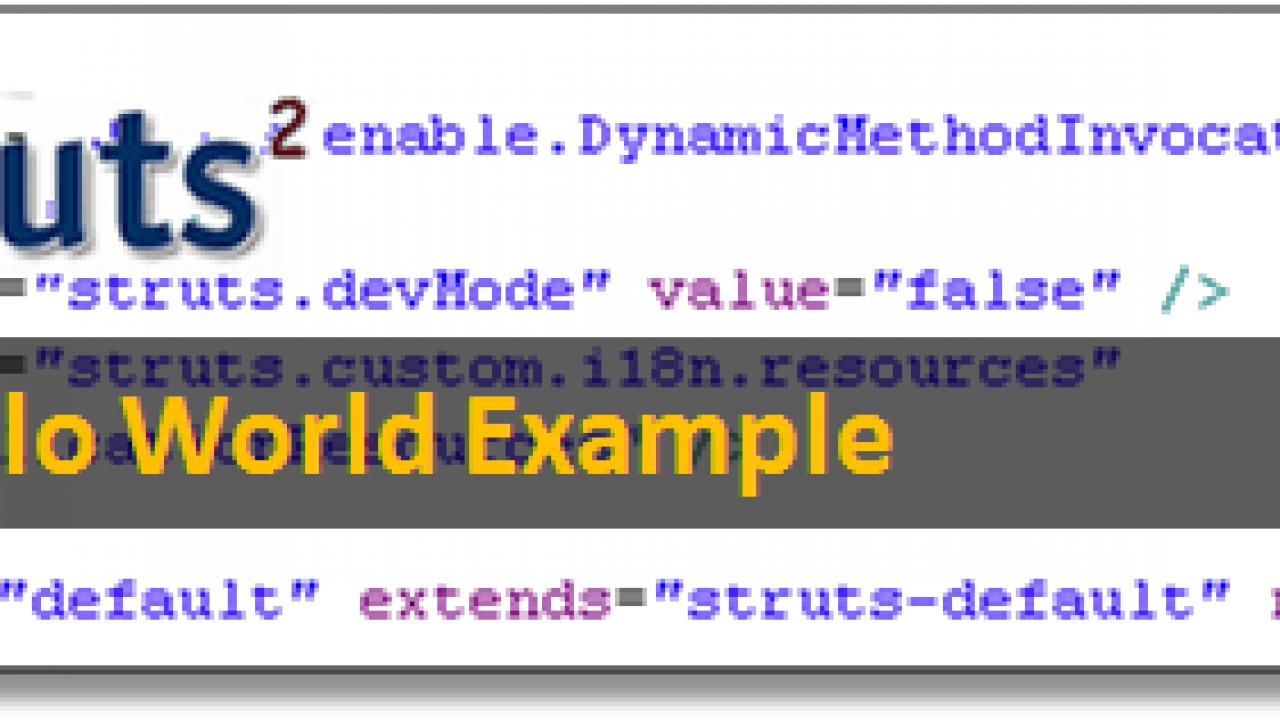 Tutorial:Create Struts 2 Application in Eclipse  Struts2