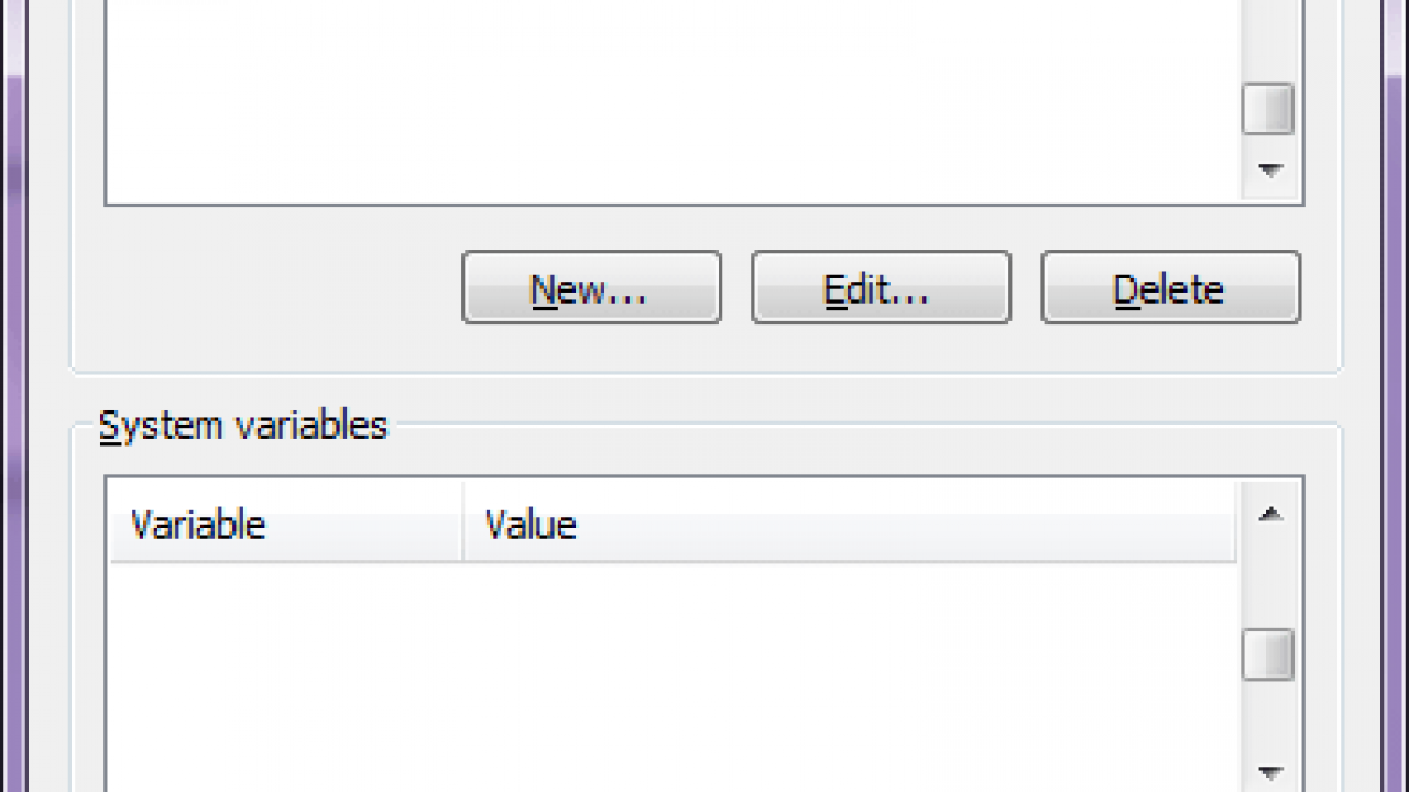 Windows 7: How To Set Environment Variable without Admin Access