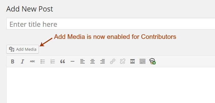 wordpress-contributor-add-media-option-enabled
