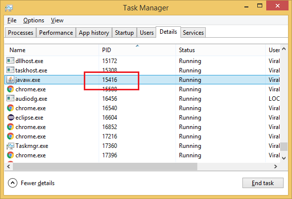 windows-task-manager-process-task-by-port-number