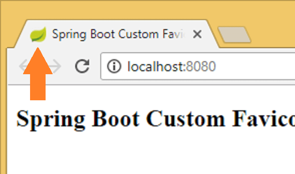 spring boot custom favicon original icon