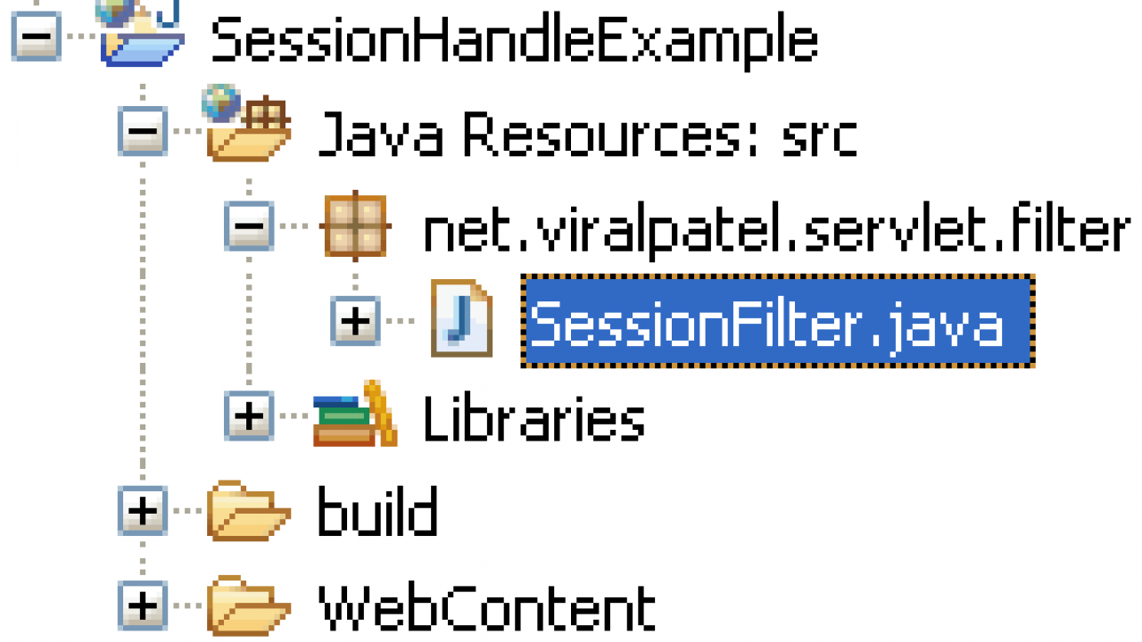 Tutorial: HTTP Session handling using Servlet Filters